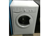 a716 white indesit 9kg 1400spin A++ rated washing machine comes with warranty can be delivered