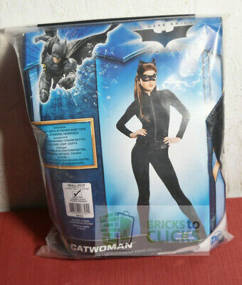 Halloween Costume Dress-Up Dark Knight Batman Catwoman Adult Small 6-10
