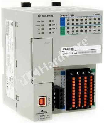 Allen Bradley 1769-l18erm-bb1b A Compactlogix 5370 Ethernet Controller 512kb