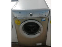 a266 silver zanussi 6kg 1200spin washing machine comes with warranty can be delivered or collected