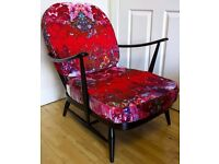 Upholstery, soft furnishings and furniture painting services including Ercol and Parker Knoll
