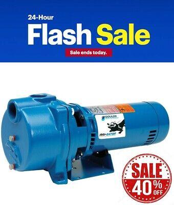 Goulds Gt30 3 Hp Water Well Irrigation Sprinkler Pump