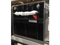 60cm Built in Single Gas Oven- Black