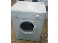 q320 white indesit 7kg b rated vented dryer comes with warranty van be delivered or collected