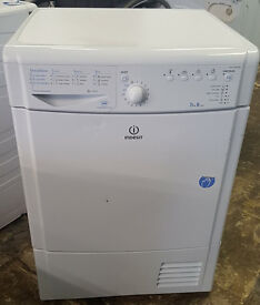 L99 white indesit 7.5kg b rated condenser dryer comes with warranty can be delivered or collected