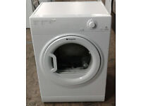 a616 white hotpoint 6kg vented dryer comes with warranty can be delivered or collected
