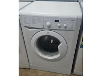 B341 white indesit 6kg 1200spin washing machine comes with warranty can be delivered or collected