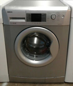 K314 silver beko 7kg 1400spin A++ rated washing machine comes with warranty can be delivered