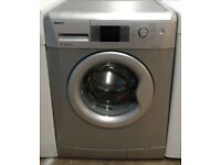 x314 silver beko 7kg 1400spin A++ washing machine comes with warranty can be delivered or collected