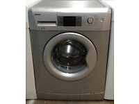 c314 silver beko 7kg 1400spin A++ washing machine comes with warranty can be delivered or collected