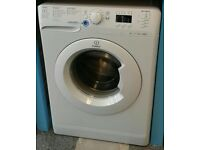 a599 white indesit 7kg 1400spin washing machine comes with warranty can be delivered or collected