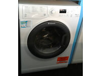B555 white hotpoint 9kg&6kg 1400spin A rated washer dryer new with manufacturers warranty