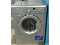 e694 silver indesit 7kg+5kg 1200spin washer dryer comes with warranty can be delivered or collected