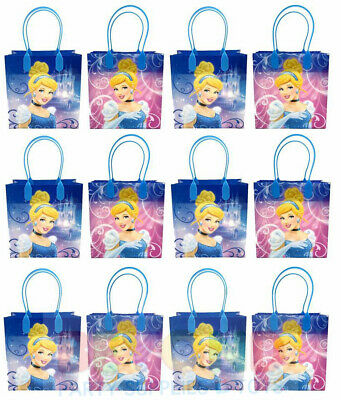 Disney Cinderella Gift Bags Party Favor Treat Goody Candy Loot Birthday Bags  (Cinderella Gifts)