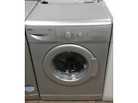 E284 silver beko 5kg 1400spin A+A rated washing machine comes with warranty can be delivered