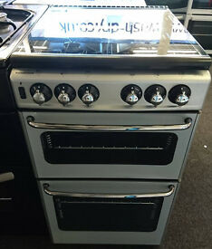 A143 silver stoves 50cm gas cooker comes with warranty can be delivered or collected