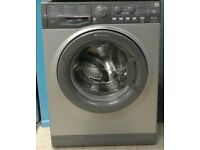 d075 graphite hotpoint 6kg 1400spin washing machine come with warranty can be delivered or collected