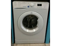 c791 white indesit 7kg 1400spin A* rated washing machine come with warranty can be delivered