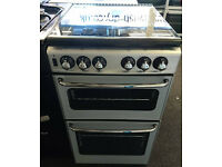 t143 silver stoves 50cm gas cooker comes with warranty can be delivered or collected