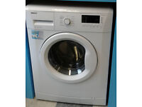 c004 white beko 6kg 1400spin A+ rated washing machine comes with warranty can be delivered
