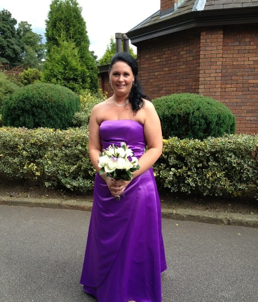 Bhs bridesmaid dress in cadbury purple size 18 in perfect bhs bridesmaid dress in cadbury purple size 18 in perfect condition reduced in price ombrellifo Image collections