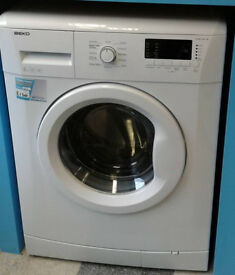 e004 white beko 6kg 1400spin A+ rated washing machine comes with warranty can be delivered