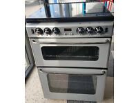 x473 silver newhome 60cm gas cooker comes with warranty can be delivered or collected
