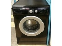 a614 black beko 6kg 1400spin washing machine comes with warranty can be delivered or collected