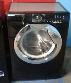 k392 black hoover 7kg 1400spin A+ rated washing machine comes with warranty can be delivered