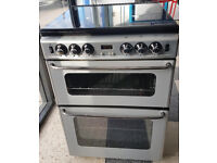 y473 silver newhome 60cm gas cooker comes with warranty can be delivered or collected