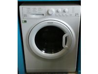 768 white hotpoint 9kg washer dryer comes with warranty can be delivered or collected