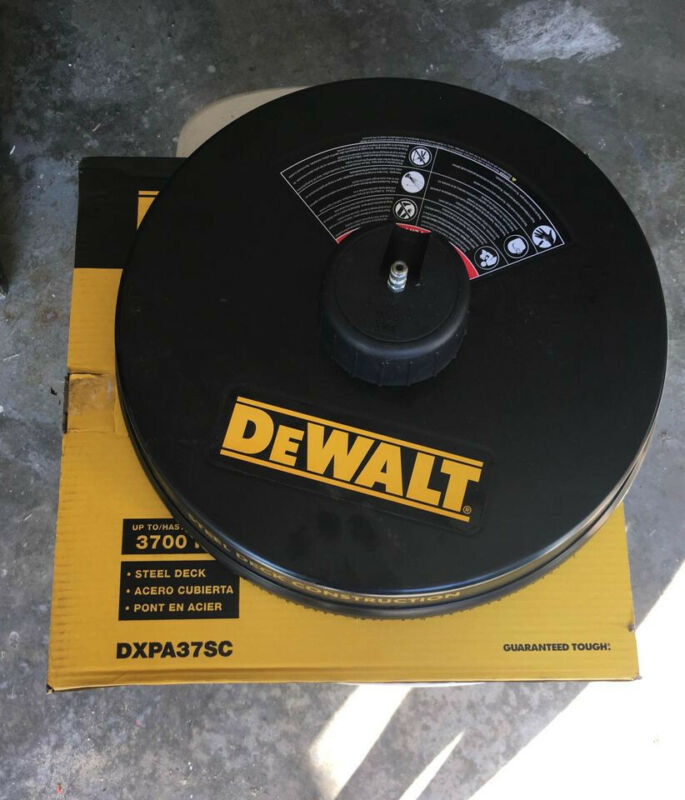 """DEWALT DXPW37SC 18"""" Surface Cleaner for Gas Pressure Washer Slightly Used"""