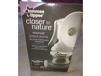 Tommee Tippee - Closer to Nature - Manual Breast Pump