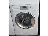 z630 white & chrome beko 9kg 1400spin washing machine comes with warranty can be delivered