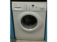 a699 white bosch 6kg 1200spin washing machine comes with warranty can be delivered or collected