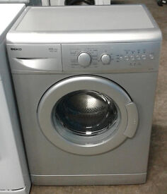 C036 silver beko 5kg 1400spin A+A rated washing machine comes with warranty can be delivered