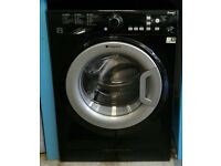 c788 black hotpoint 8kg 1400spin A** rated washing machine come with warranty can be delivered