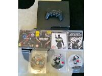 PS3 160gb 7 games 1 pad and charger