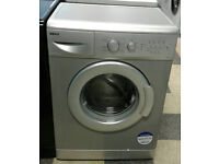 a043 silver beko 6kg 1400spin washing machine comes with warranty can be delivered or collected
