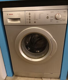 l366 silver bosch 6kg 1200spin washing machine comes with warranty can be delivered or collected