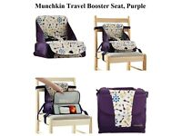 Munchkin Travel Booster Seat, Purple