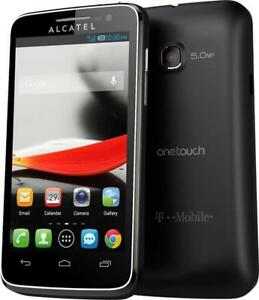 ALCATEL ONE TOUCH EVOLVE 5020T UNLOCKED FIDO ROGERS CHATR KOODO VIRGIN MOBILE TELUS CUBA VIDEOTRON ANDROID 4G CAMERA GPS