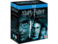 Harry Potter - Complete 8-Film Blu Ray Collection - Mint condition