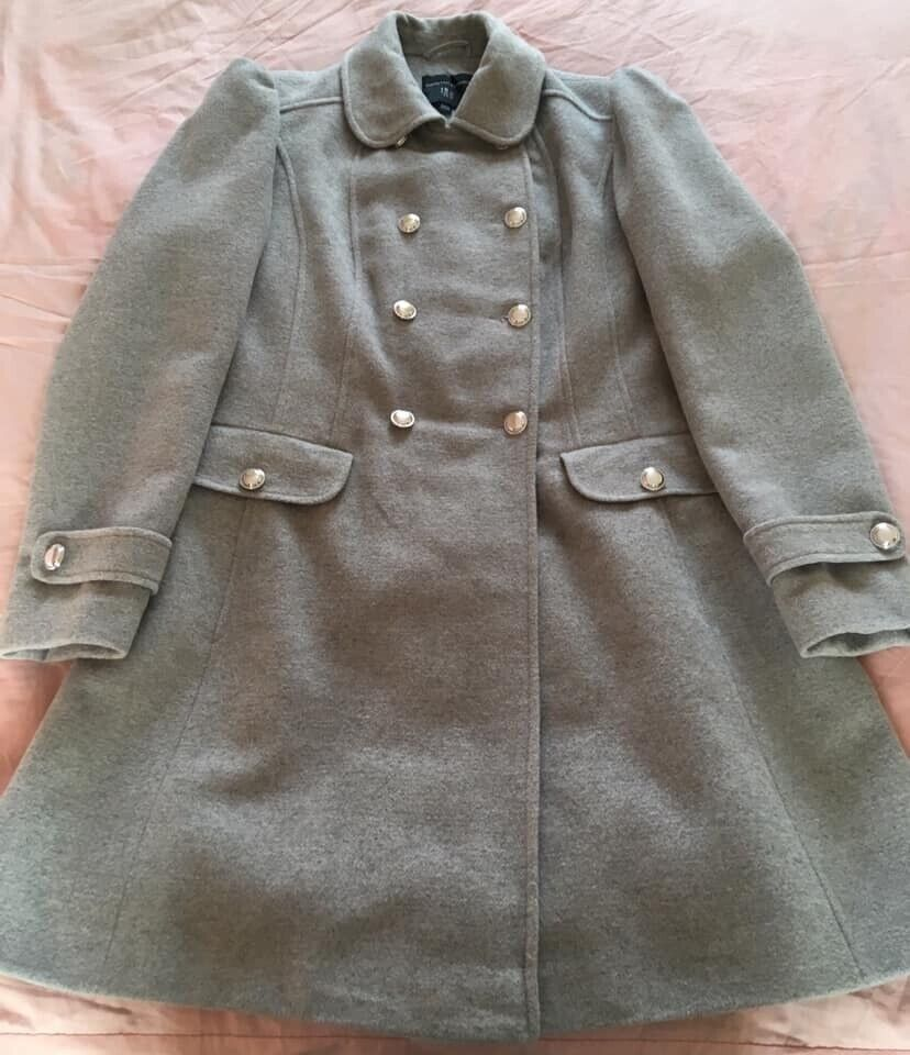 310181fde LADIES GREY DOROTHY PERKINS COAT, SIZE 16 | in Castle Vale, West Midlands |  Gumtree