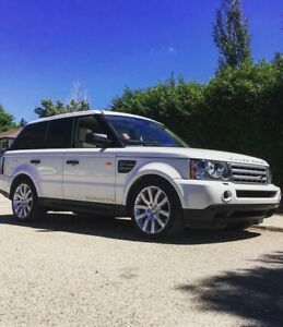 2008 Land Rover Range Rover Sport, Super charged.