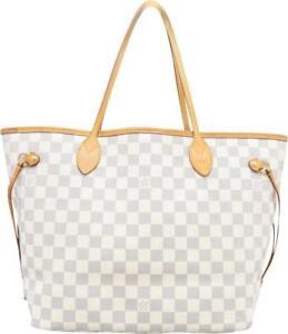 331d8a861221 Louis Vuitton Neverfull MM Damier Azur Canvas for sale online