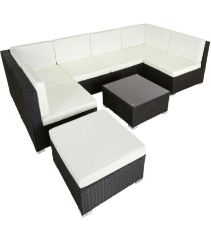 Garden Furniture - rattan garden furniture Corner Sofa set