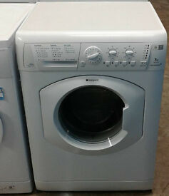 b224 White Hotpoint 7kg 1600Spin Washing Machine Comes With Warranty, Can Be Delivered