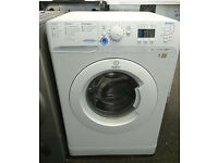 b374 white indesit 7kg 1400spin A*rated washing machine comes with warranty can be delivered