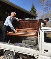 Piano Moving $200-250